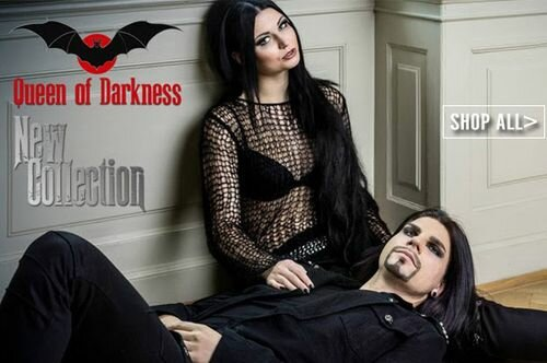 Queen of Darkness Womens Clothing