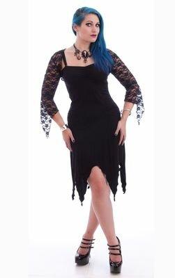 Necessary Evil Gothic Cleone Lace Bolero