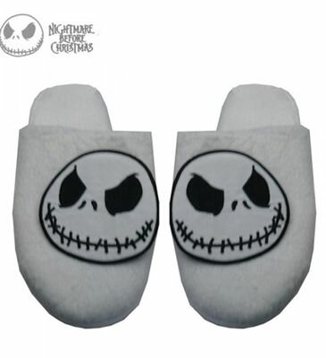 Nightmare Before Christmas Gothic Slippers