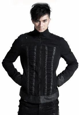 Punk Rave Black Order Gothic Jacket