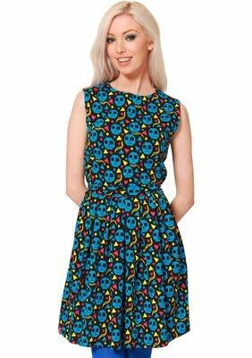 Flip Flop & Fangs Pixel Zombie Josephine Dress
