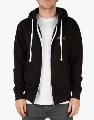 Route One XXV Black Zip Hoodie Front
