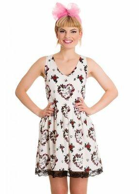 Hell Bunny Love Mini Dress