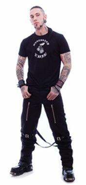 Necessary Evil Gothic Hypnos Bondage Trousers