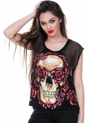 Jawbreaker Judy Doom Top