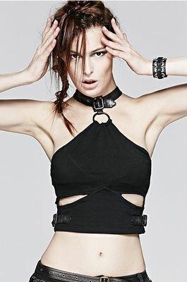 Punk Rave Tomb Raider Top