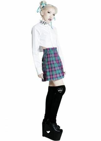 Morph8ne Tell-Tales Pleated Skirt