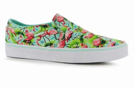 Vans Asher Slip On Canvas Shoes