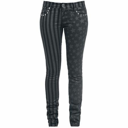 Full Volume Stars and Stripes Slim Fit Jeans