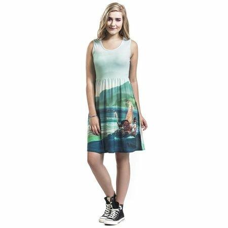 Moana Oceanic Dress