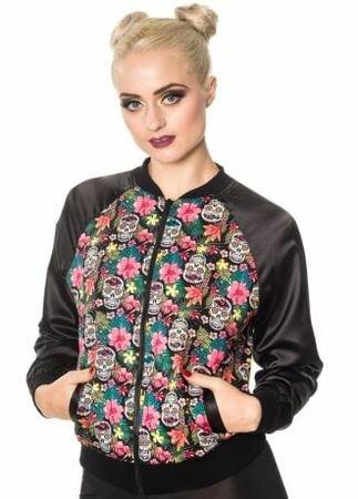 Banned Apparel Brooke Bomber Jacket