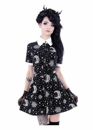 Restyle Henna Babydoll Dress