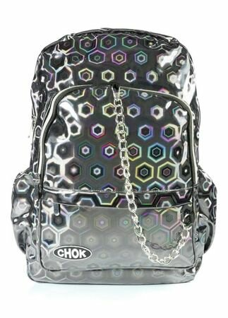 Chok Holo 3D Grey Backpack