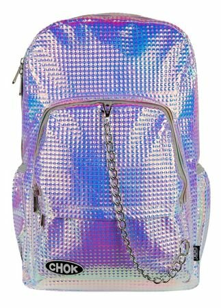 Chok Holo Square Stud Backpack