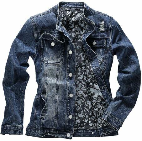 Full Volume Jeans Jacket