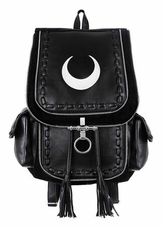 Restyle White Crescent Backpack