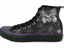 Spiral Direct Gothic High Top Sneakers