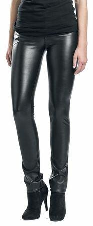Fashion Victim Faux Leather Trousers