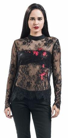 Fashion Victim Lace Longsleeve Top