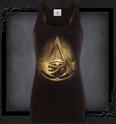 ORIGINS LOGO Assassins Creed Razor Back Top