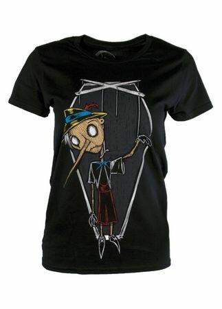 Grimm Designs Broken Puppet T-Shirt