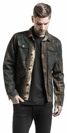 Rock Rebel Dirtwash Jacket