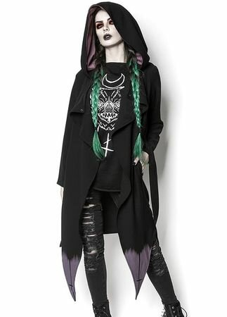 Rogue & Wolf High Priestess Gothic Coat