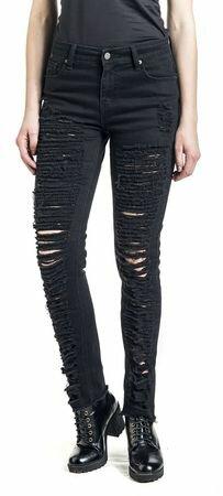 Fashion Victim Destroyed Jeans