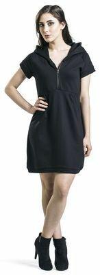 Black Premium Funeral Bell Dress
